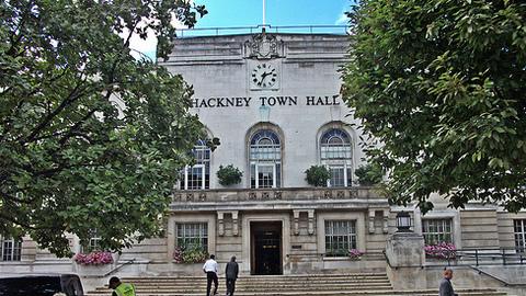 Hackney Town Hall. Pic: Duncan Harris