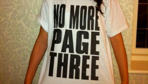 Shoreditch Sisters for the No More Page Three campaign.    Pic: No More Page Three