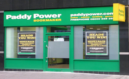 Paddy Power. Pic: Betty Longbottom