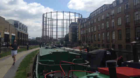 Regents Canal. Photo:Deana Georgas
