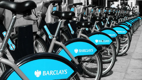 Boris bikes Pic: CGP Grey