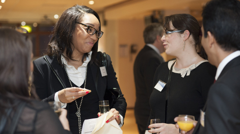 Attendees at the Croydon Business Awards launch Pic:  Prospects Services