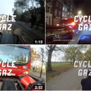 Cycling in London on Youtube Pic: Cycling Gaz