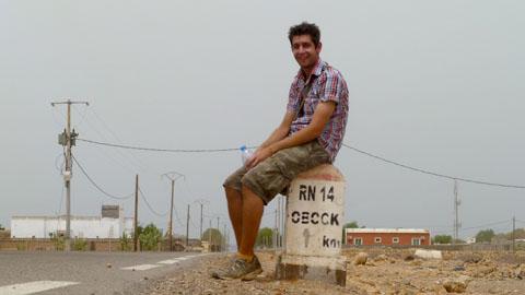 Road, Obock. Pic: Ian Packham