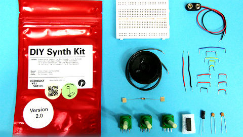 DIY Synth kit Pic: Technology Will Save Us