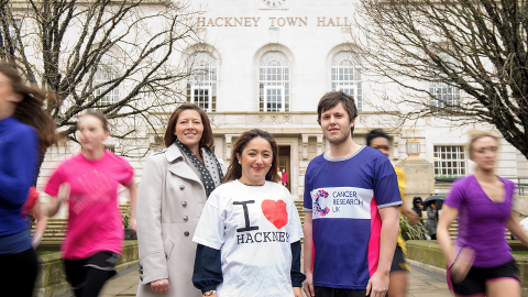 Run Hackney. Picture: Anthony Upton