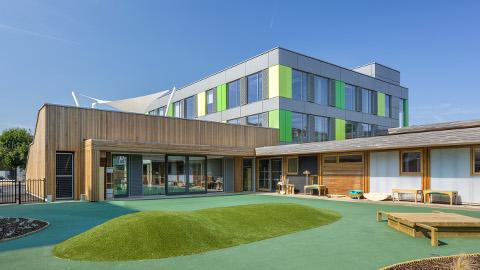 Thomas Fairchild Community School in Hackney. Pic: McL