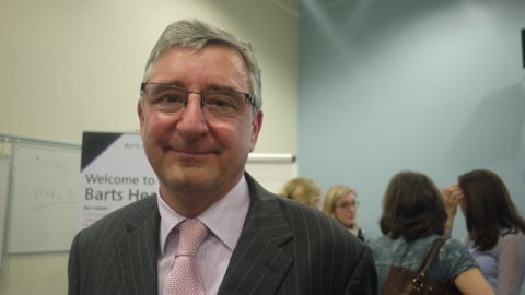 MP Jim Fitzpatrick. Pic: Xue Mi
