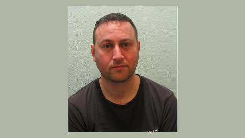 Sexual offender Paul Cannon. Pic: Metropolitan Police