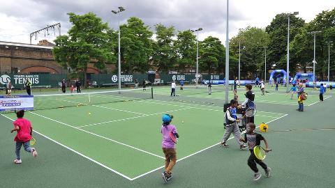 Bethnal Green Gardens tennis courts
