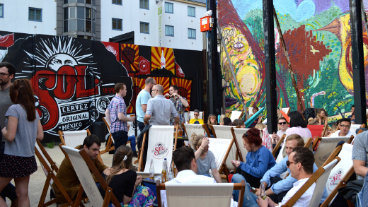 The Red Market opened  for the fourth year in Shoreditch. Photo: Dimitra Skoufou