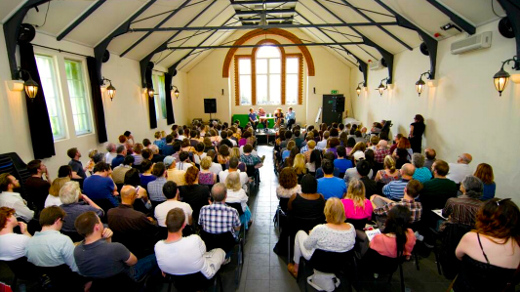 The festival brings together writers and readers to share a common love of literature. Photo: Stoke Newington Literary Festival Official Twitter