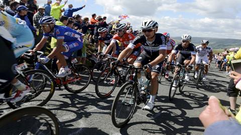 Le Tour in Yorkshire on Saturday Pic: Tour De France