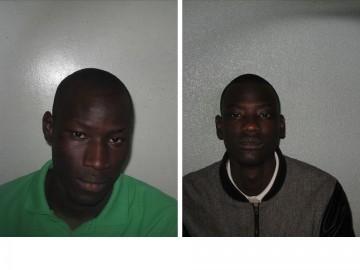 Left: Ali Deen Right: Basiru Deen Pic: Metropolitan Police