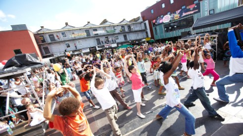 Dance Nations Dalston 2010, Pic: Ian Routledge