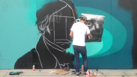 Artists at work in Hackney Wick Pic: Nick Colwill