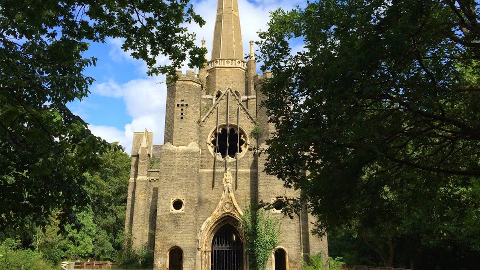 Abney Park cemetery endangered of being lost forever. Pic: Sophie Sainty