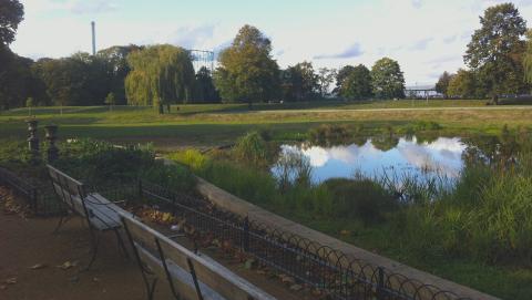 £3.5 million was put into the development of Wandle Park. Pic: Cyrila Ringele