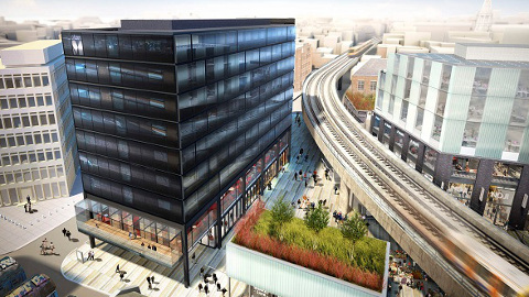 The Citizen M is expected to open mid-2015. Renderings: Ellis Miller Architects