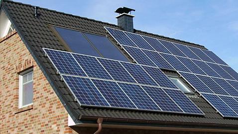 Solar panels in use. Photo: Wikimedia