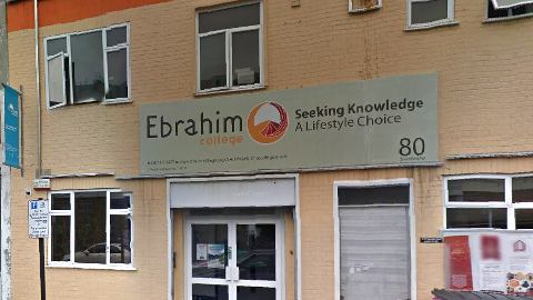Ebrahim Academy College. Pic: Google Maps
