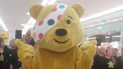 Pudsey the Bear. Pic: Jacqui Algate