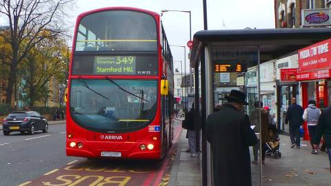 Stamford Hill is recognised as having a substantial Jewish population. Pic: Alice Harrold