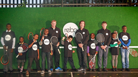REBO wall tennis. Pic: Rollcall