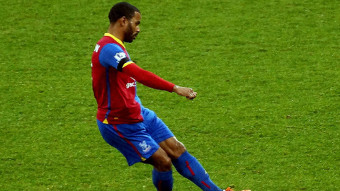 Crystal Palace's English forward Jason Puncheon. Pic: David Pinkney