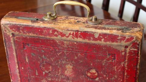 Gladstone Budget Box. Pic: HM Treasury.