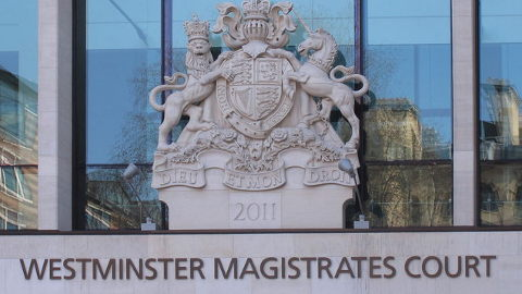 Westminster Magistrates Court. Pic: David Hawgood