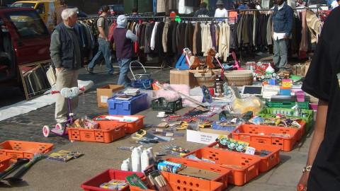 Kingsland Waste market. Pic: Michael Rank