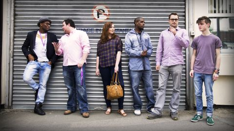 The team at Phundee, a Shoreditch-based company. Pic: Ashon Spooner