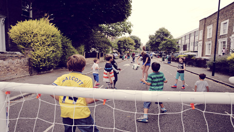 Streets like these will be flooded with children playing. Pic: Julia Kennedy