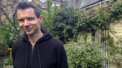 Former Café Crema owner Chris Boddington