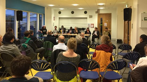 Lewisham Deptford Hustings