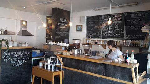 HER Cafe, Haggerston: Lindsay Crocket