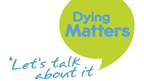The café aims to 'normalise' conversations about death. Pic: Dying Matters Awareness Week