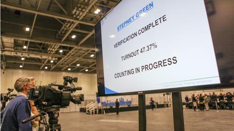 KF-Stepney Green verification complete