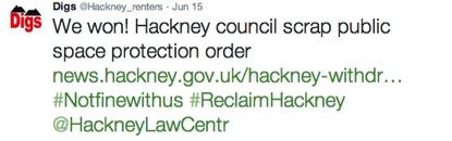 hackney we won