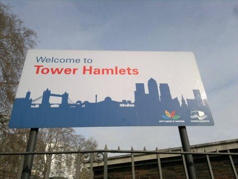 Tower Hamlets Pic: Steven Haslington