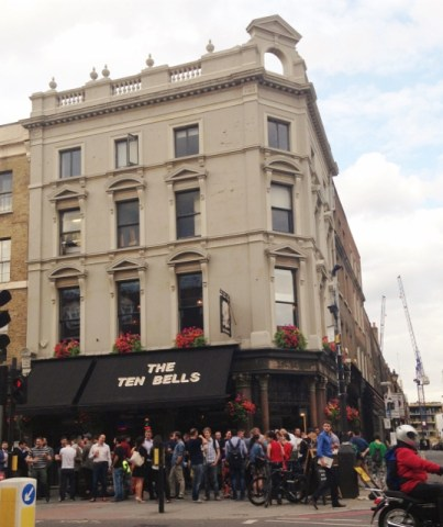 The pub was built in 1666 and is famous for its association with two victims of Jack the Ripper   Pic: Joyeeta Basu
