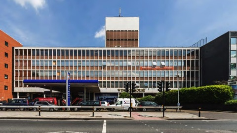 Offices in Windsor House are being converted into 149 self-contained flats. Pic: Allsop.