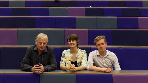 Pic: Left to right - Independent Columnist Andy McSmith, Assistant News Editor at Huffington Post: Louise Ridley and Guardian Columnist Owen Jones, Credit: Matt Kirby