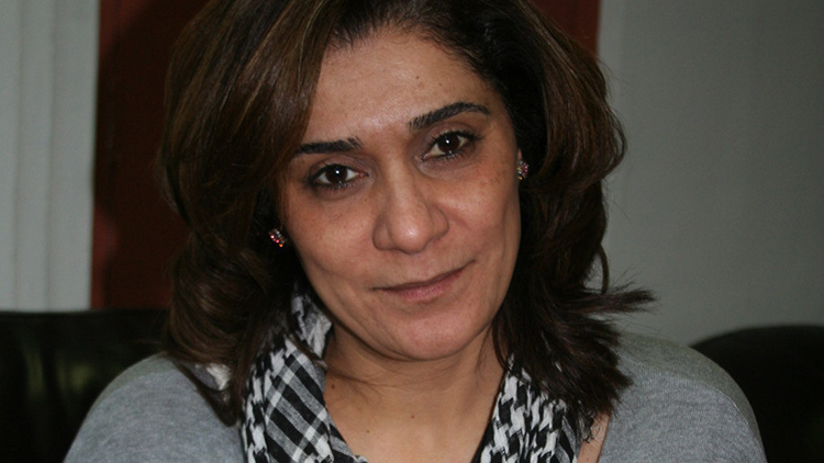 Al Hafiza talks to ELL. Pic: Annie Gouk