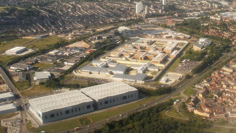 Belmarsh prison complex where Douglas hung himself. Pic Anders Sandberg