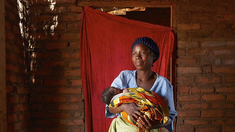 No matter the circumstances, the women were all proud of their achievement in Malawi. Pic: Jenny Lewis