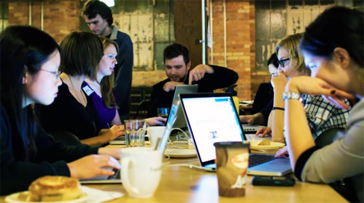 Classes at Croydon Tech City. Pic: Jon Lim