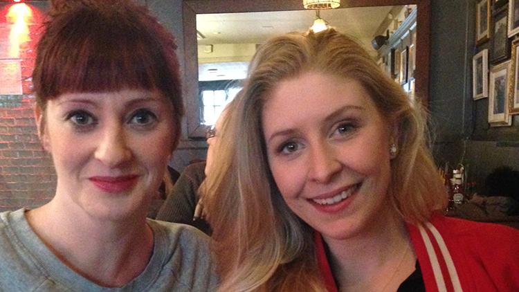 Sarah Spencer and Pernilla Holland. Pic: Emmanuella Kwenortey