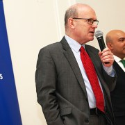 The Mayor of Tower Hamlets John Biggs answering public questions